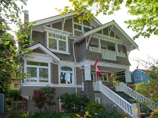 Main Photo: 1833 - 1835 COLLINGWOOD Street in Vancouver: Kitsilano House for sale (Vancouver West)  : MLS®# V1119814