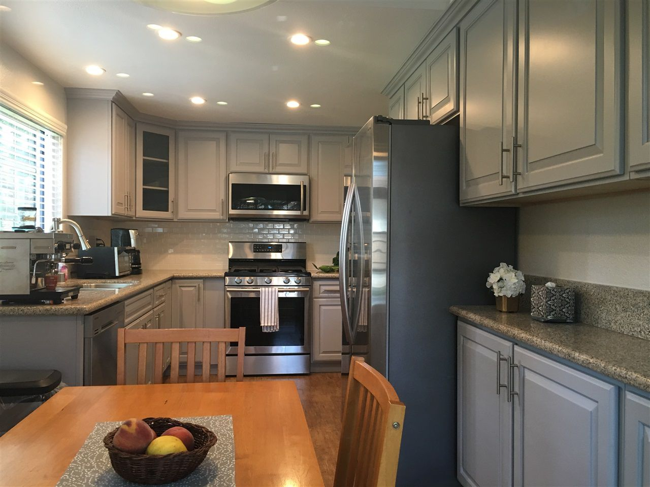 All new cabinets, appliances and recessed can  lighting