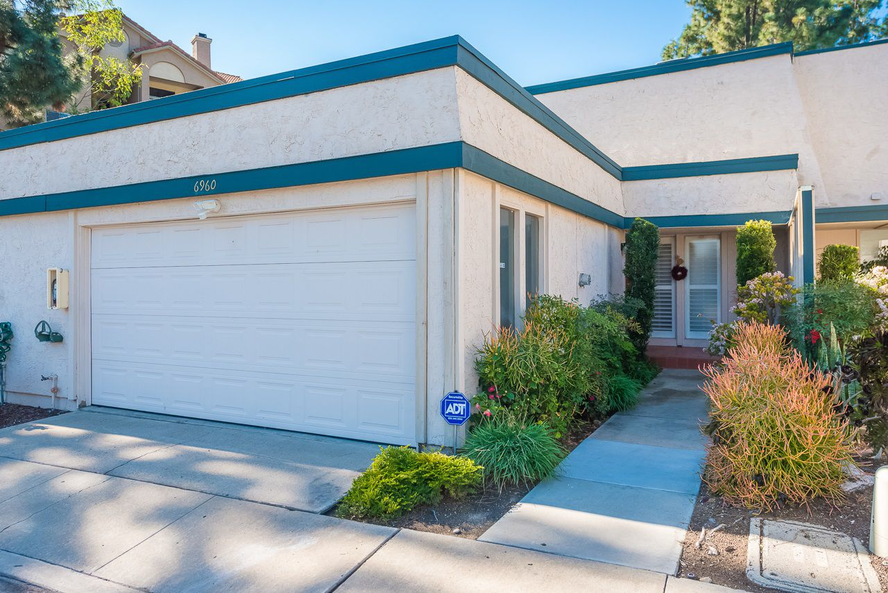 Large 2 car garage- direct access to the home!