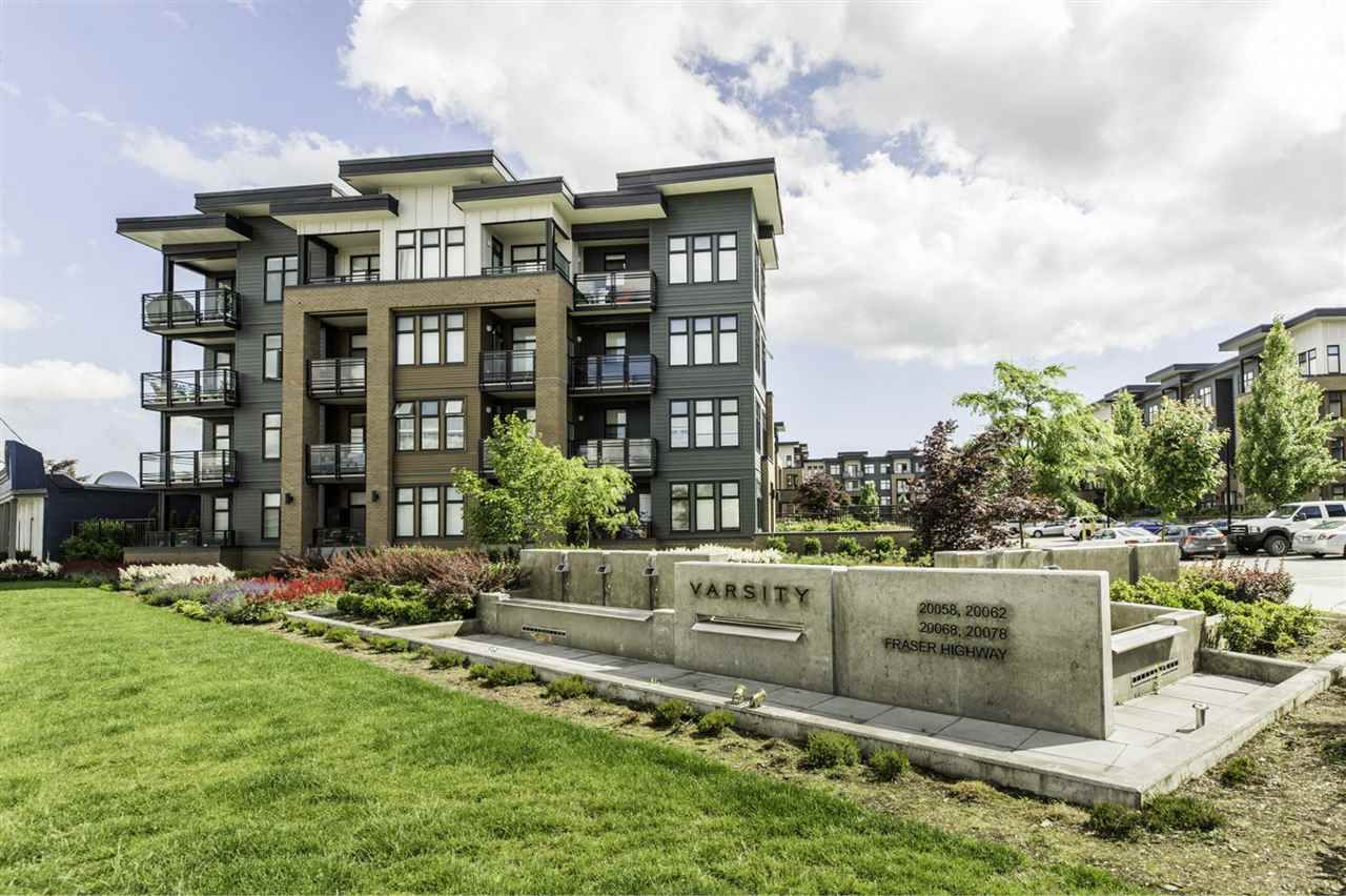 """Main Photo: 317 20078 FRASER Highway in Langley: Langley City Condo for sale in """"Varsity"""" : MLS®# R2181716"""