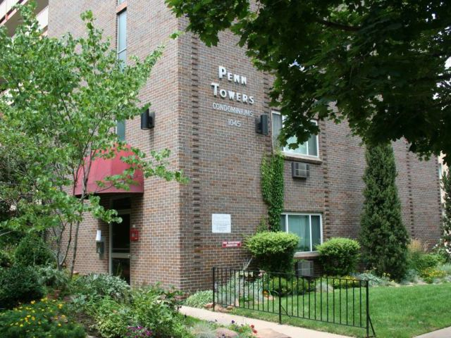 Main Photo: 1045 Pennsylvania St #204 in Denver: Penn Towers Residential Attached for sale (DSE)  : MLS®# 1190775