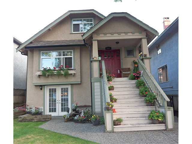 Main Photo: 2068 E 2ND AV in Vancouver: Grandview VE House for sale (Vancouver East)  : MLS®# V1035619