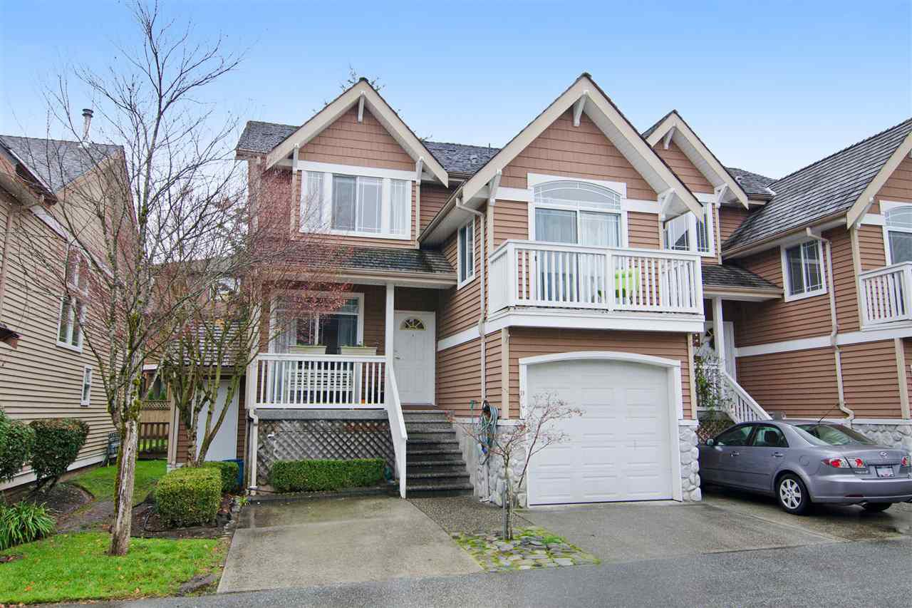 "Main Photo: 18 1506 EAGLE MOUNTAIN Drive in Coquitlam: Westwood Plateau Townhouse for sale in ""RIVER ROCK"" : MLS®# R2017127"