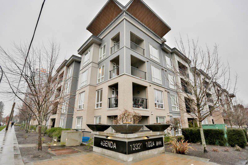 """Main Photo: 418 13321 102A Avenue in Surrey: Whalley Condo for sale in """"Agenda"""" (North Surrey)  : MLS®# R2093962"""