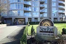 "Main Photo: 2001 200 NEWPORT Drive in Port Moody: North Shore Pt Moody Condo for sale in ""NEWPORT VILLAGE"" : MLS®# R2094912"