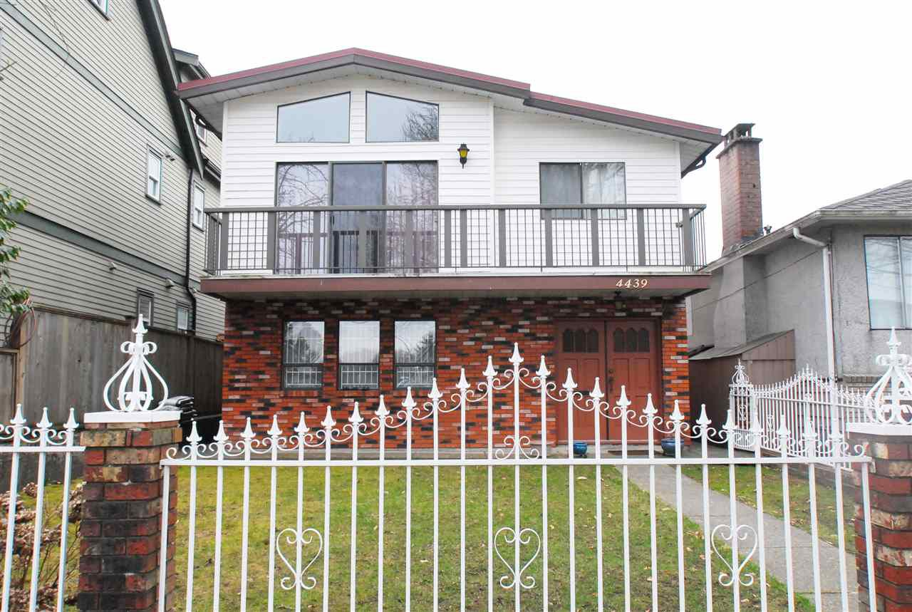 Main Photo: 4439 WELWYN Street in Vancouver: Victoria VE House for sale (Vancouver East)  : MLS®# R2148441