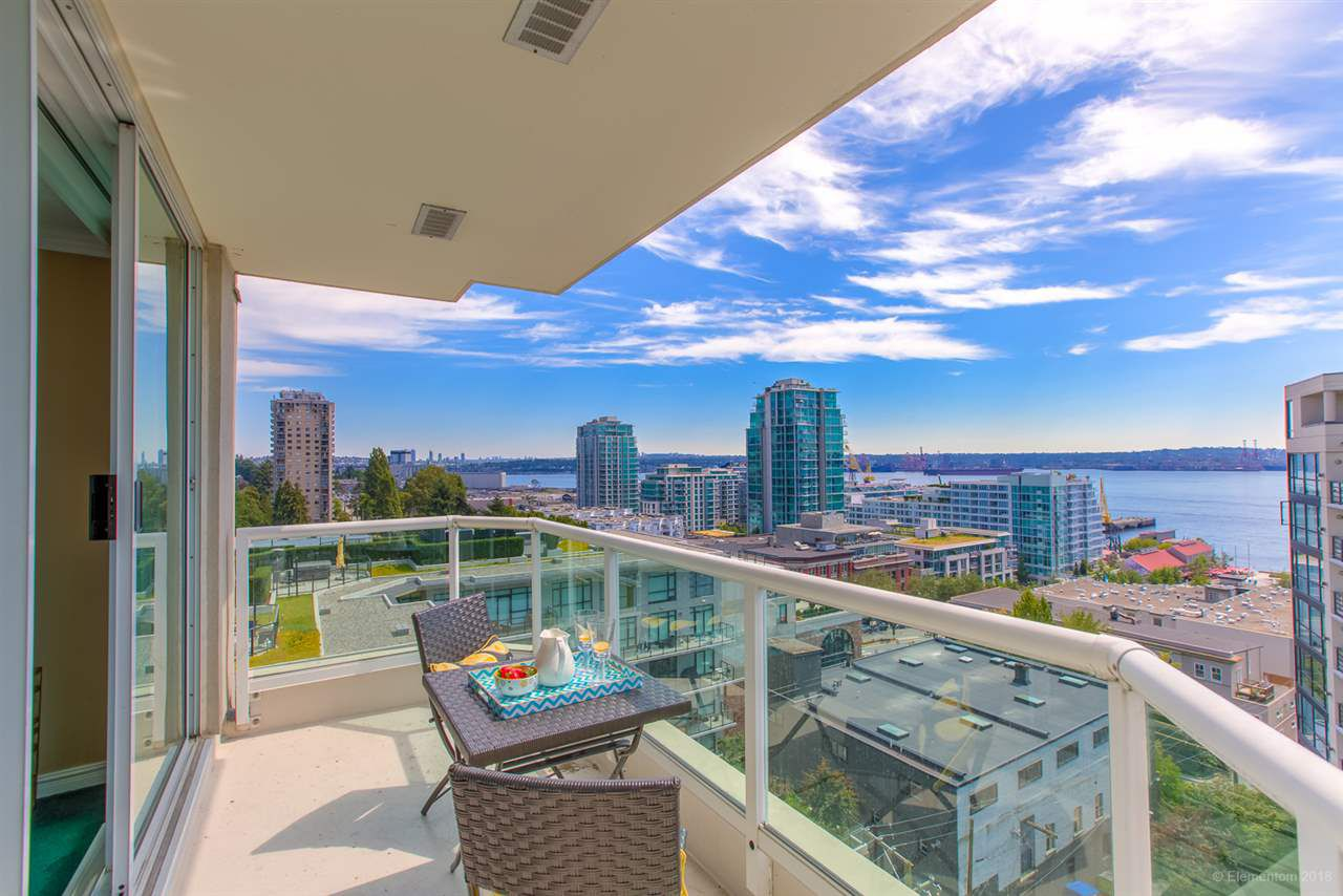 "Main Photo: 1002 125 W 2ND Street in North Vancouver: Lower Lonsdale Condo for sale in ""SAILVIEW"" : MLS®# R2278537"