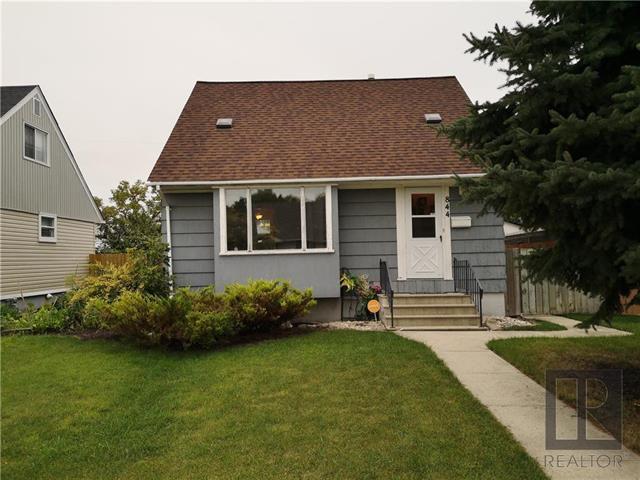 Main Photo: 844 Manhattan Avenue in Winnipeg: East Elmwood Residential for sale (3B)  : MLS®# 1825262