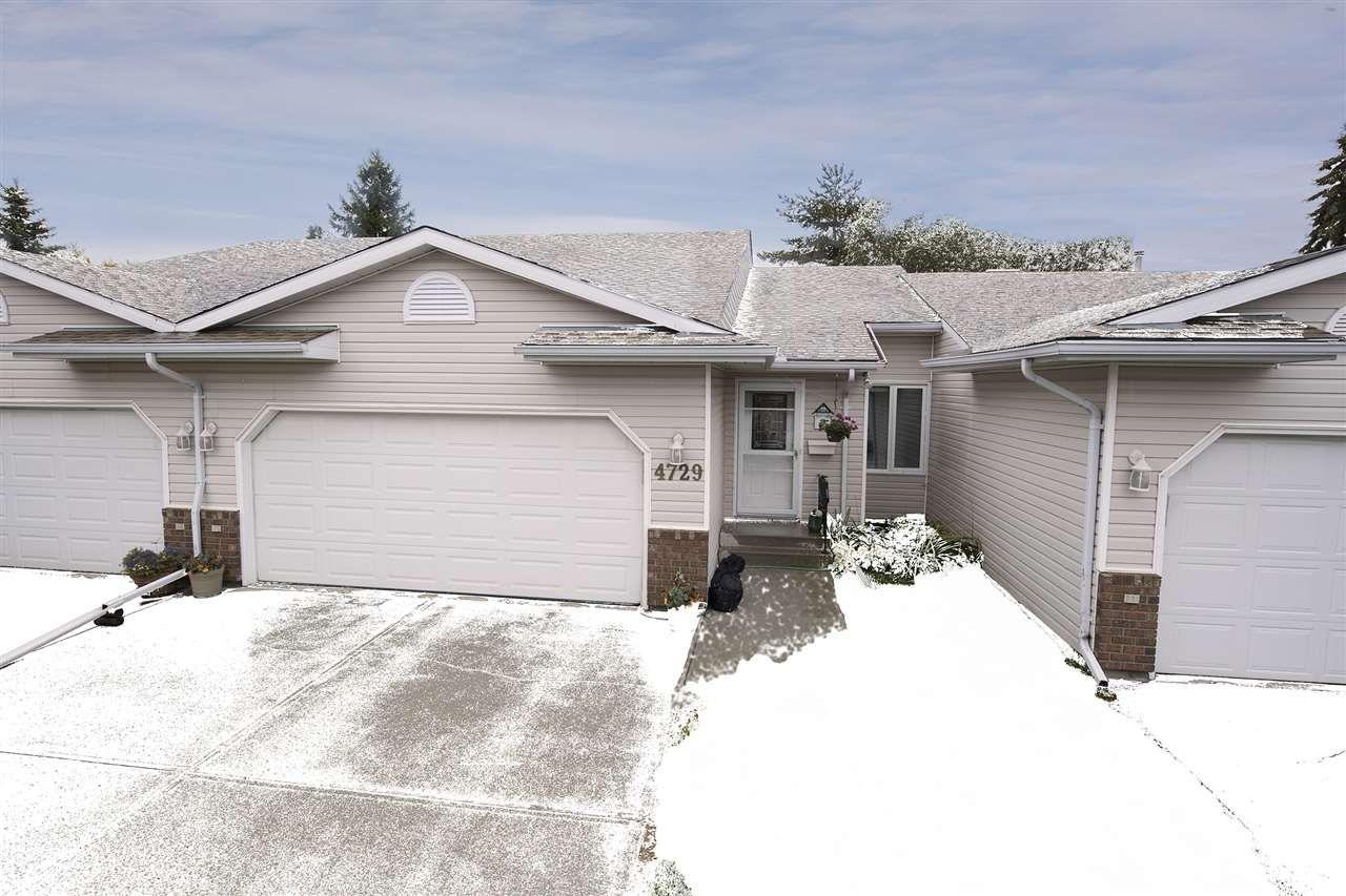 Main Photo: 4729 25 Avenue in Edmonton: Zone 29 House Half Duplex for sale : MLS®# E4139540