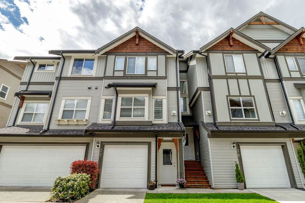 """Main Photo: 25 1055 RIVERWOOD Gate in Port Coquitlam: Riverwood Townhouse for sale in """"MOUNTAIN VIEW ESTATES"""" : MLS®# R2368988"""