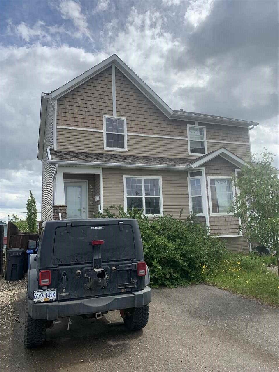 Main Photo: 8729 79A Street in Fort St. John: Fort St. John - City SE House 1/2 Duplex for sale (Fort St. John (Zone 60))  : MLS®# R2375633