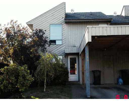 "Main Photo: 186 32550 MACLURE RD in Abbotsford: Abbotsford West Townhouse for sale in ""CLEARBROOK VILLAGE"" : MLS®# F2620389"