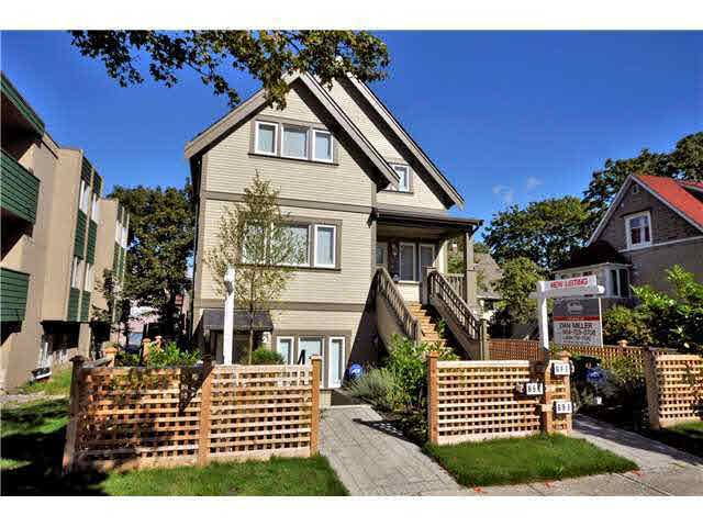 Main Photo: 69 E 16TH AVENUE in : Mount Pleasant VE Townhouse for sale : MLS®# V998833