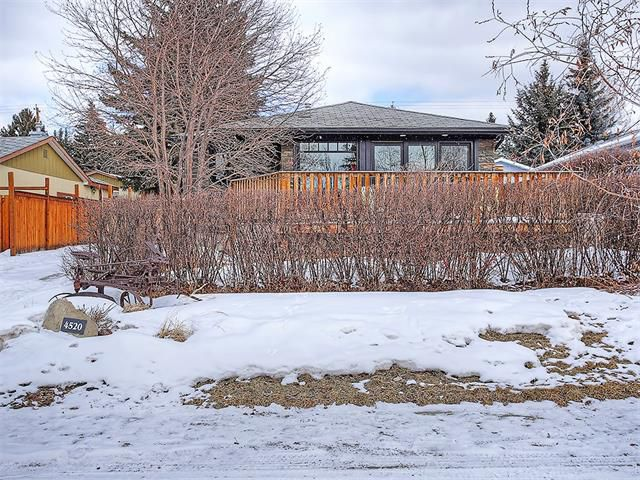 Main Photo: 4520 21 Avenue NW in Calgary: Montgomery House for sale : MLS®# C4102515