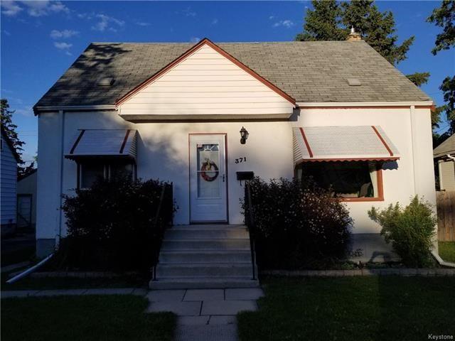 Main Photo: 371 Truro Street in Winnipeg: St James Residential for sale (5E)  : MLS®# 1816003