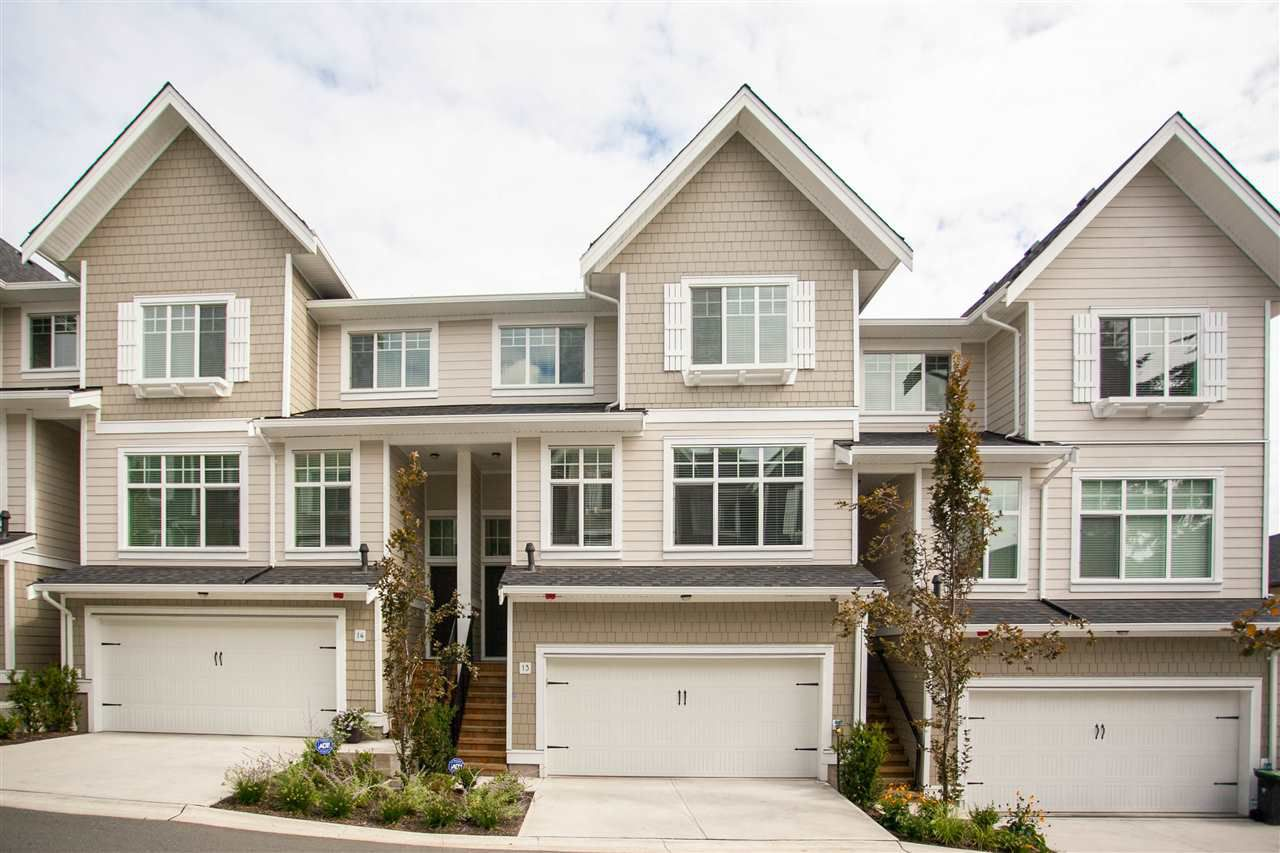 """Main Photo: 13 19938 70 Avenue in Langley: Willoughby Heights Townhouse for sale in """"CREST"""" : MLS®# R2306024"""