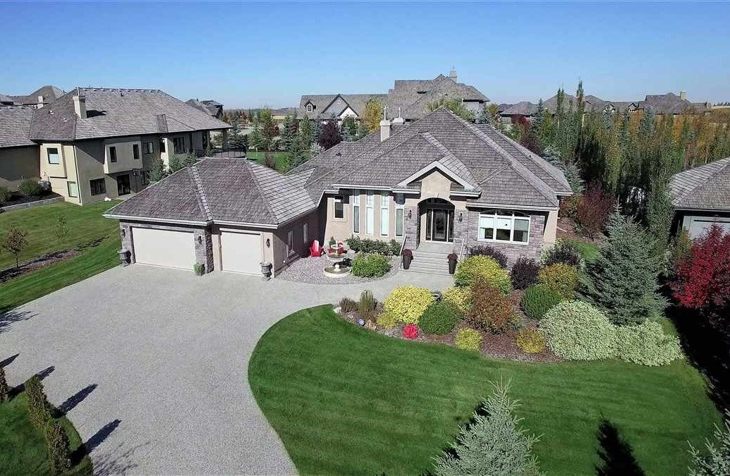Main Photo: 209 RIVERSIDE Close: Rural Sturgeon County House for sale : MLS®# E4146151