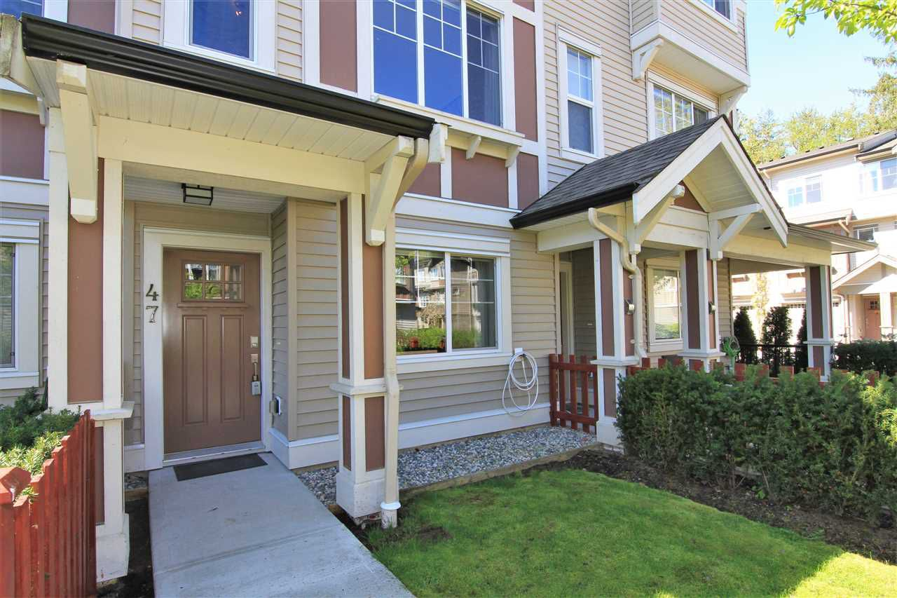 """Main Photo: 47 10151 240 Street in Maple Ridge: Albion Townhouse for sale in """"ALBION STATION"""" : MLS®# R2381398"""