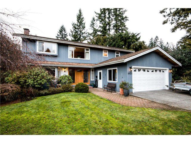 Main Photo: 4421 PATTERDALE Drive in North Vancouver: Capilano NV House for sale : MLS®# V1101516