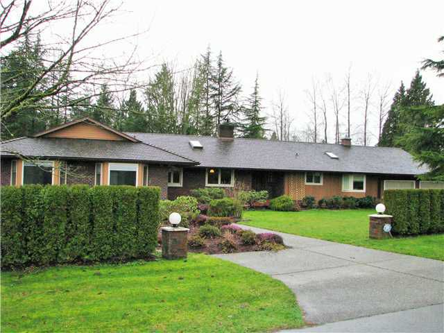 Main Photo: 1949 167TH Street in Surrey: Pacific Douglas House for sale (South Surrey White Rock)  : MLS®# F1432254