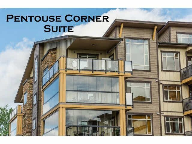 """Here it is! Penthouse corner suite with Southeasterly exposure in Yorkson Creek! Less than a year old"