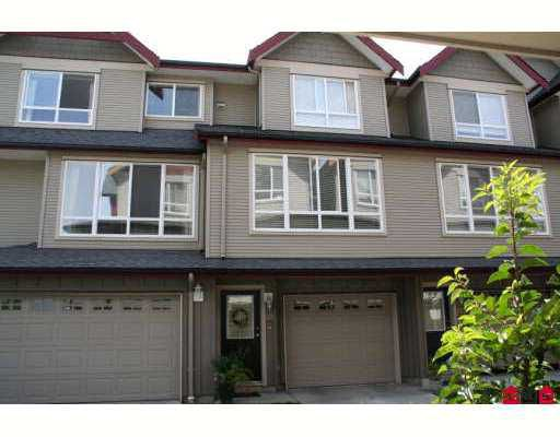 """Main Photo: 16772 61ST Ave in Surrey: Cloverdale BC Townhouse for sale in """"Laredo"""" (Cloverdale)  : MLS®# F2621013"""