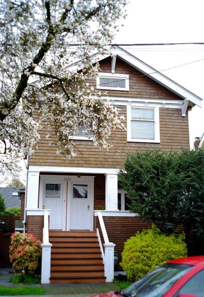 Main Photo: 2617 W 7TH Avenue in Vancouver: Kitsilano House for sale (Vancouver West)  : MLS®# R2051139