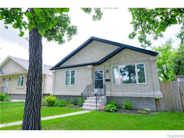 Main Photo: 322 Moray Street in Winnipeg: Residential for sale : MLS®# 1617679