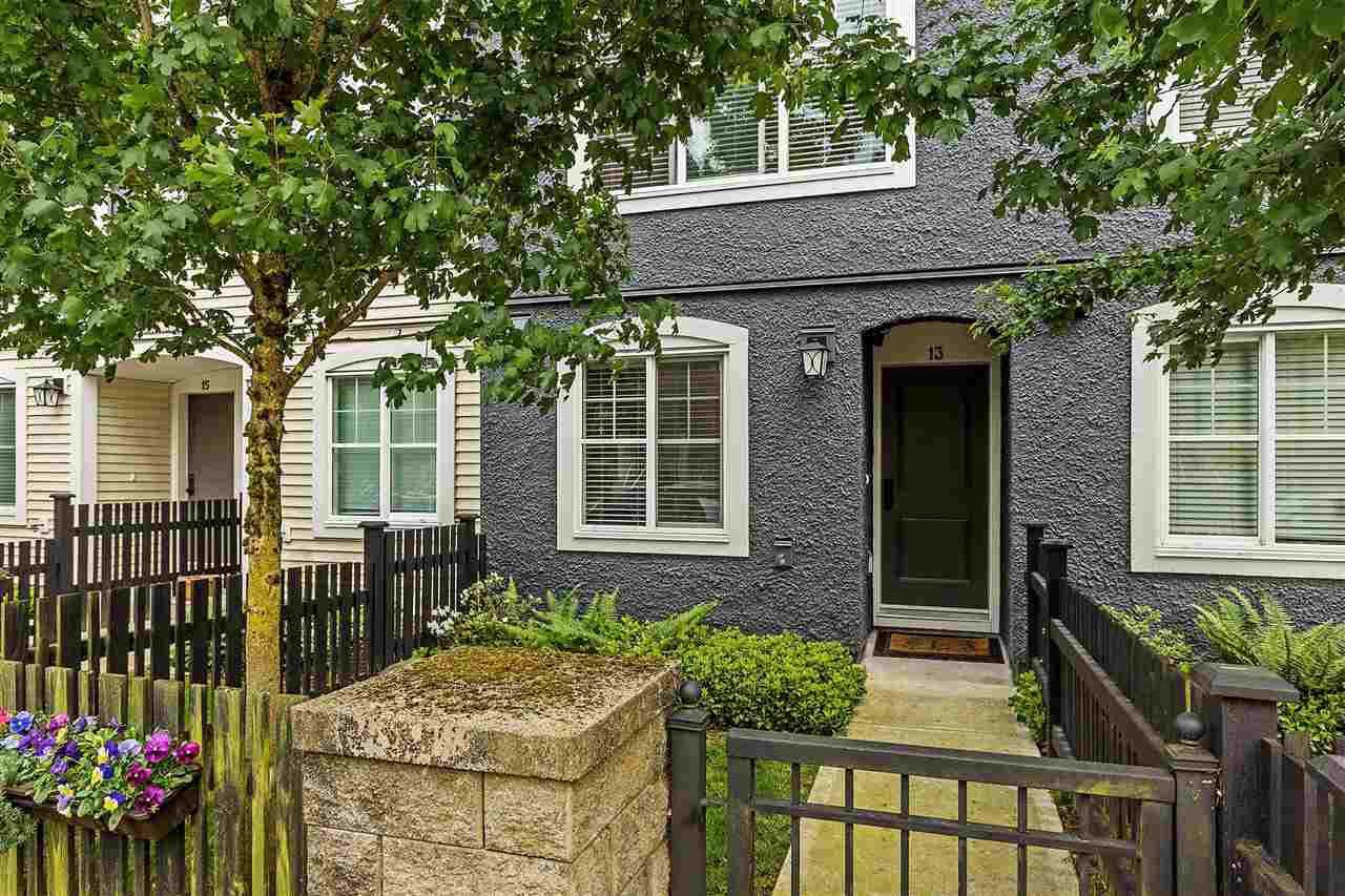 "Main Photo: 13 19180 65 Avenue in Surrey: Clayton Townhouse for sale in ""La Rue"" (Cloverdale)  : MLS®# R2174029"