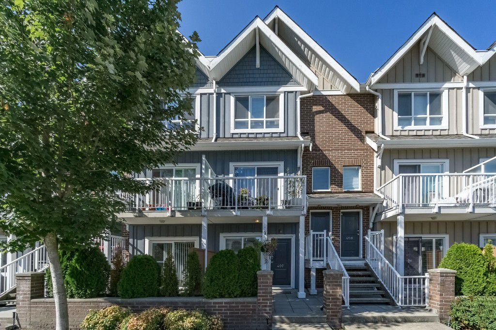 Main Photo: 407 1661 FRASER Avenue in PORT COQUITLAM: Glenwood PQ Townhouse for sale (Port Coquitlam)  : MLS®# R2197805