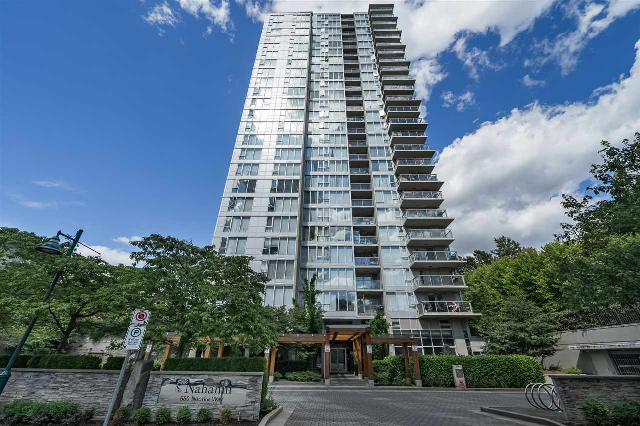 """Main Photo: 1208 660 NOOTKA Way in Port Moody: Port Moody Centre Condo for sale in """"NAHANNI"""" : MLS®# R2287464"""