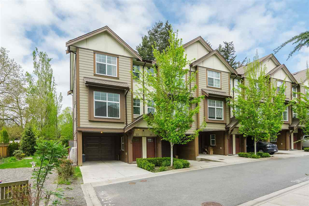"""Main Photo: 22 33860 MARSHALL Road in Abbotsford: Central Abbotsford Townhouse for sale in """"MARSHALL MEWS"""" : MLS®# R2290339"""