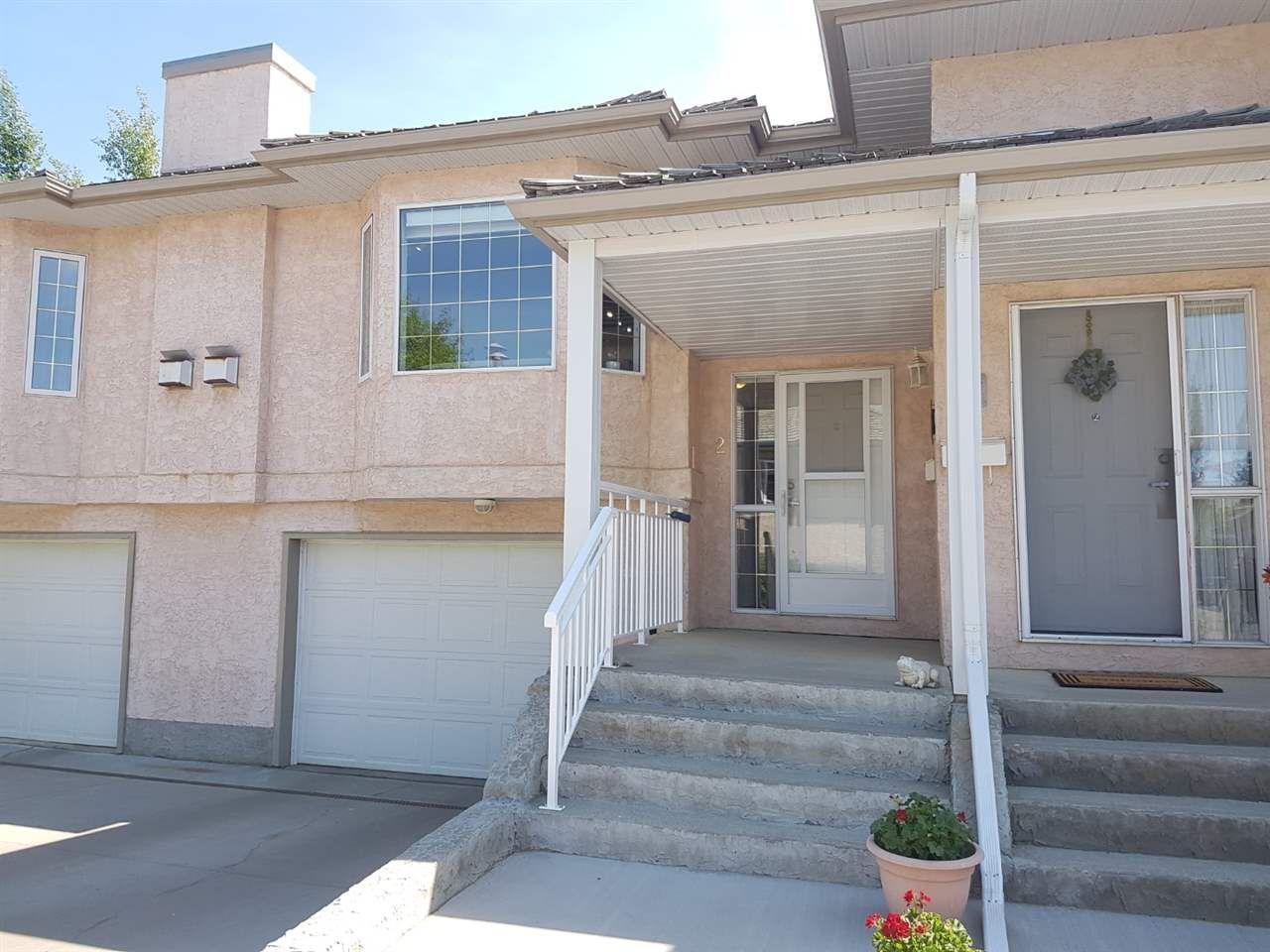 Main Photo: 2 30 Giroux Road: St. Albert Townhouse for sale : MLS®# E4124253