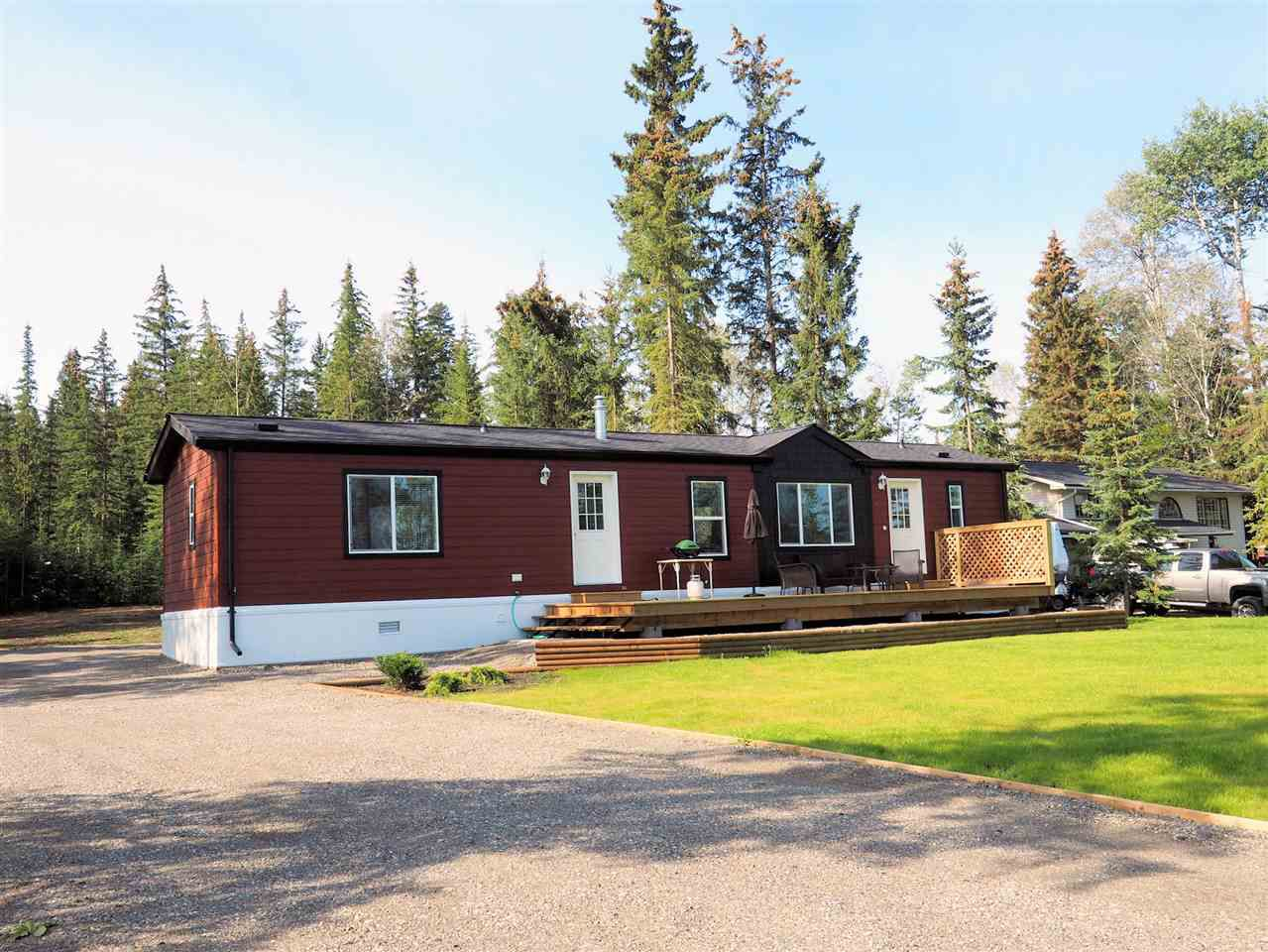 Main Photo: 6076 NORMAN Road: Horse Lake Manufactured Home for sale (100 Mile House (Zone 10))  : MLS®# R2301342