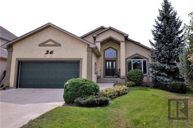 Main Photo: 26 Haverstock Crescent in Winnipeg: Linden Woods Residential for sale (1M)  : MLS®# 1826455