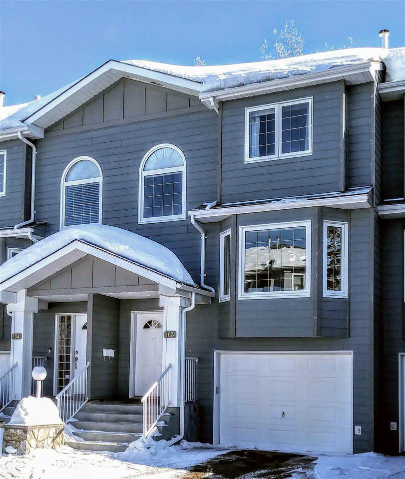 "Main Photo: 103 6450 DAWSON Road in Prince George: Valleyview Townhouse for sale in ""VALLEYVIEW"" (PG City North (Zone 73))  : MLS®# R2347317"