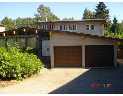 Main Photo: 7715 TYNDALE PL in Burnaby: Montecito House for sale (Burnaby North)  : MLS®# V549601
