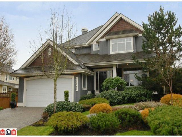 Main Photo: 15660 38TH AV in : Morgan Creek House for sale : MLS®# F1205291
