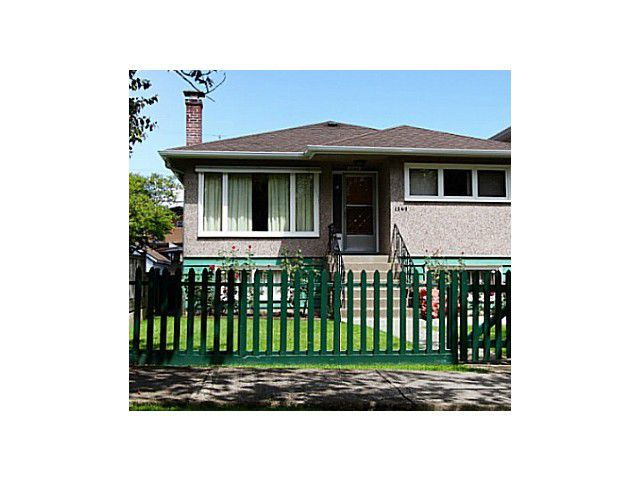 Main Photo: 2177 E 20TH Avenue in Vancouver: Grandview VE House for sale (Vancouver East)  : MLS®# V1128361