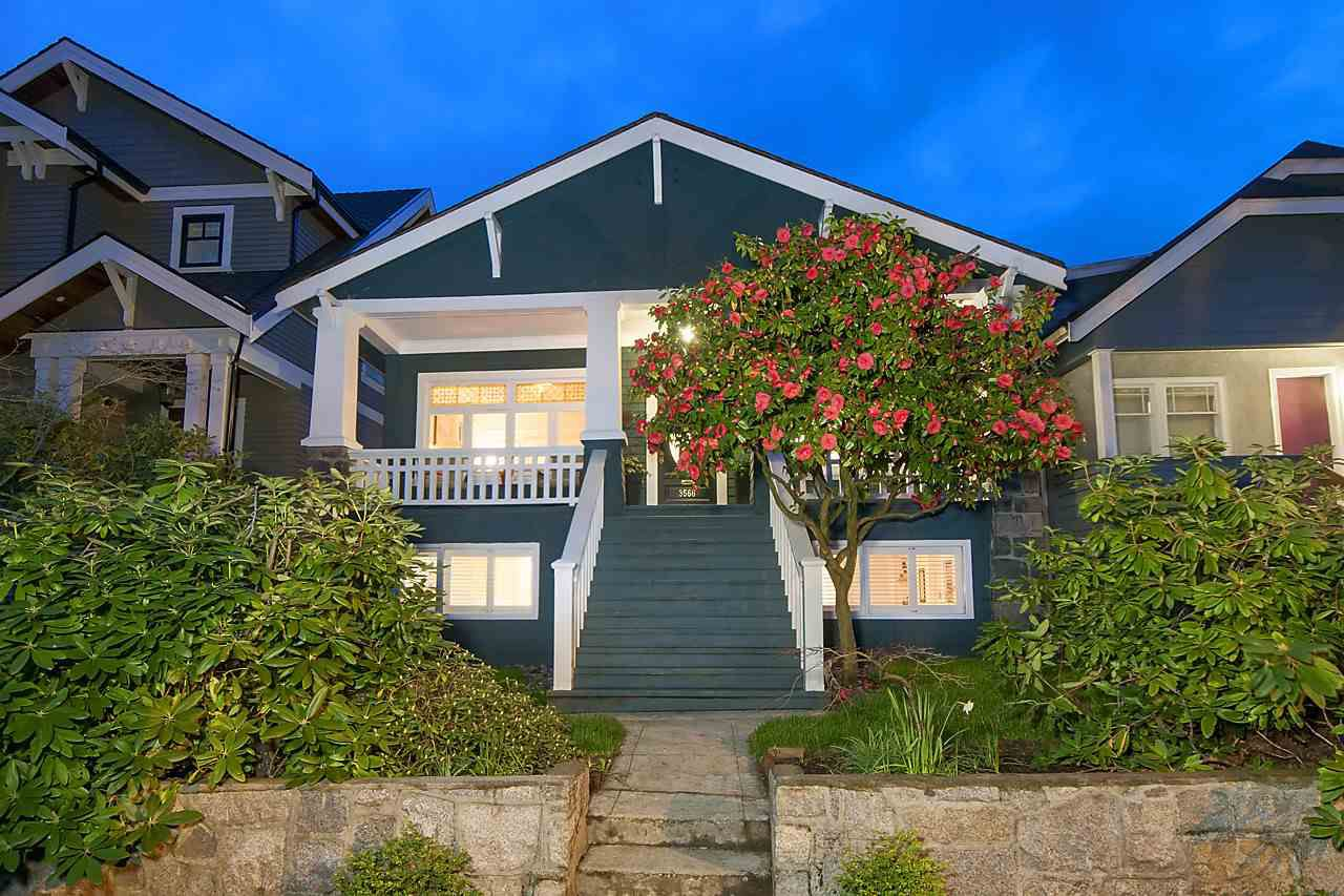 Main Photo: 3566 W 20TH Avenue in Vancouver: Dunbar House for sale (Vancouver West)  : MLS®# R2158209
