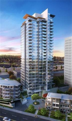 Main Photo: 1407 520 Como Lake Avenue in Coquitlam: Coquitlam West Condo for sale : MLS®# R2212224