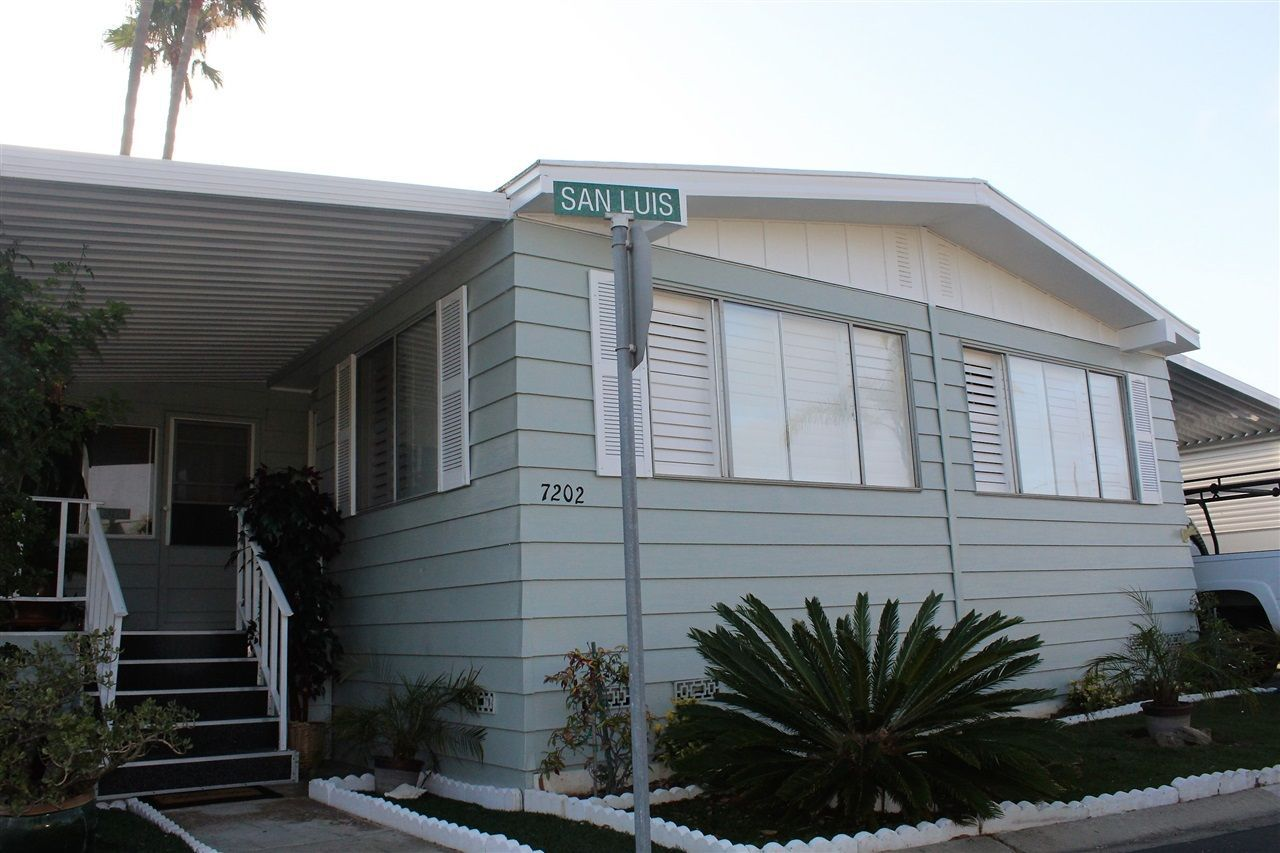 Main Photo: CARLSBAD WEST Manufactured Home for sale : 2 bedrooms : 7202 San Luis #165 in Carlsbad