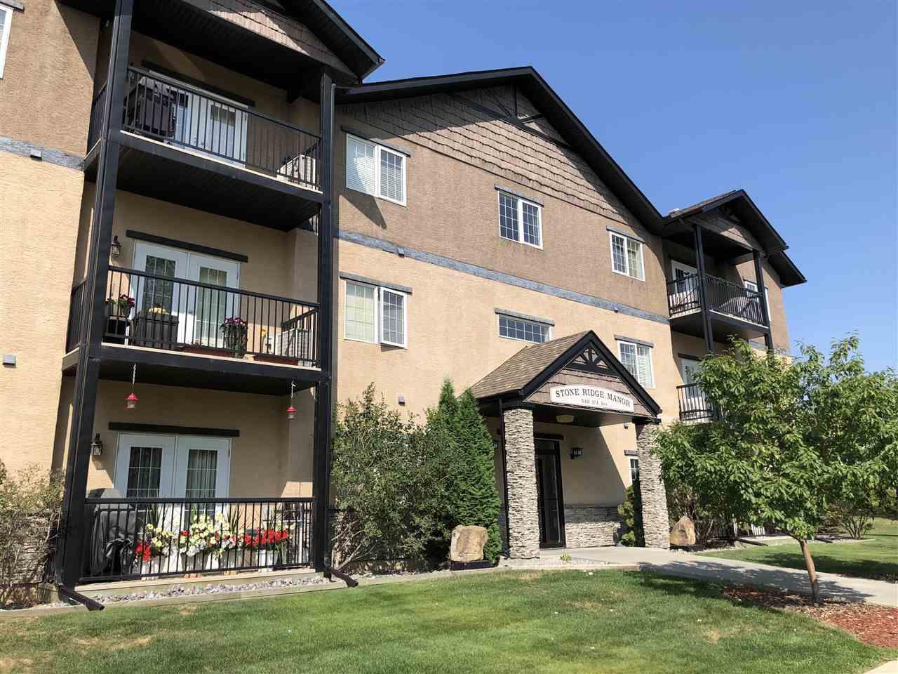 Main Photo: 101 5401 37A Avenue: Wetaskiwin Condo for sale : MLS®# E4123200