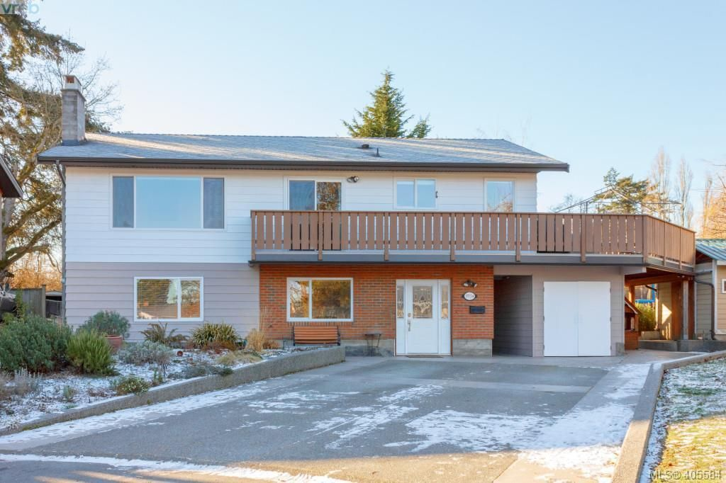 Main Photo: 3934 Mimosa Place in VICTORIA: SW Marigold Single Family Detached for sale (Saanich West)  : MLS®# 405584