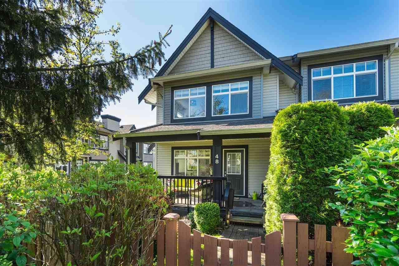 "Main Photo: 48 19448 68 Avenue in Surrey: Clayton Townhouse for sale in ""NUOVO"" (Cloverdale)  : MLS®# R2365136"
