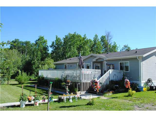 Main Photo: 14521 SIPHON CREEK Road in Fort St. John: Fort St. John - Rural E 100th Manufactured Home for sale (Fort St. John (Zone 60))  : MLS®# N236520