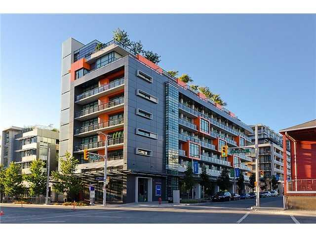 Main Photo: 705 123 W 1ST Avenue in Vancouver: False Creek Condo for sale (Vancouver West)  : MLS®# V1103121