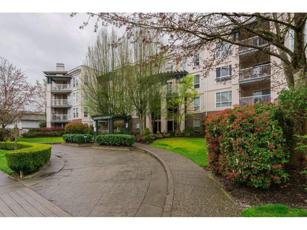 "Main Photo: 308 20200 54A Avenue in Langley: Langley City Condo for sale in ""MONTERY GRANDE"" : MLS®# R2221595"