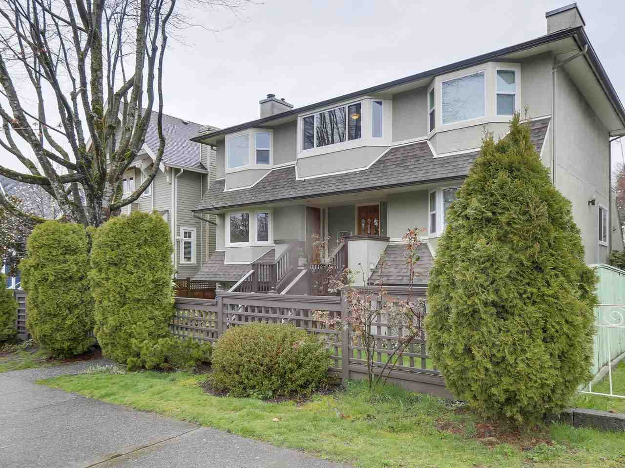 Main Photo: 55 W 15TH Avenue in Vancouver: Mount Pleasant VW Townhouse for sale (Vancouver West)  : MLS®# R2255188