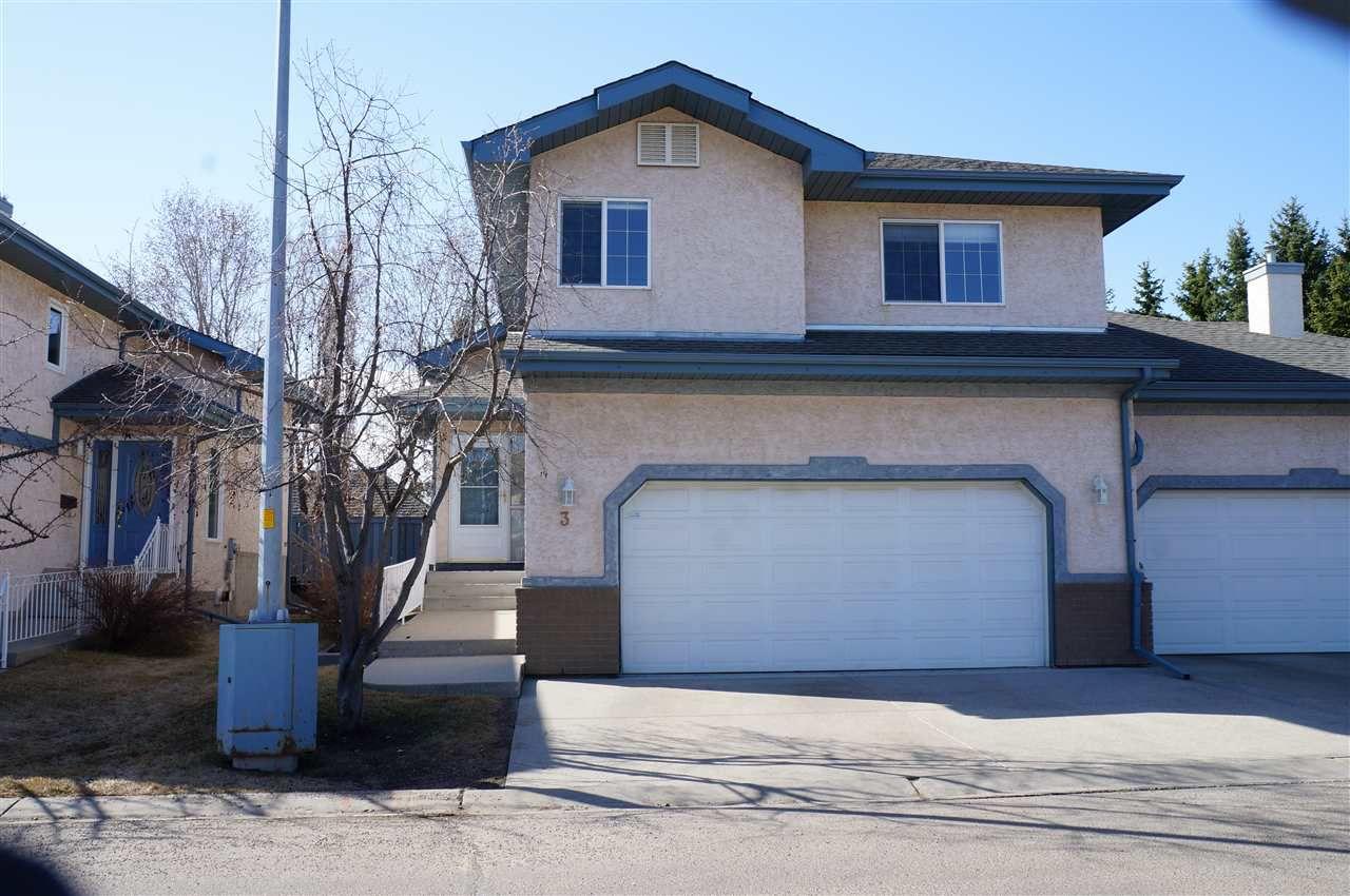 Main Photo: 3 ESTATES Court: Sherwood Park House Half Duplex for sale : MLS®# E4153503